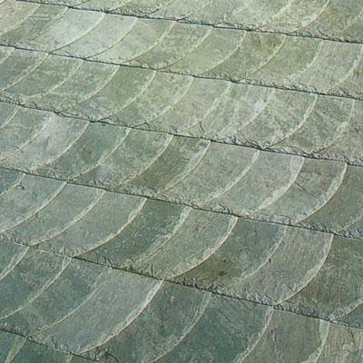 Grey roof slate