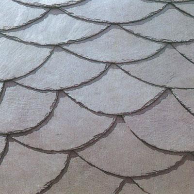 U Shape grey roof slate