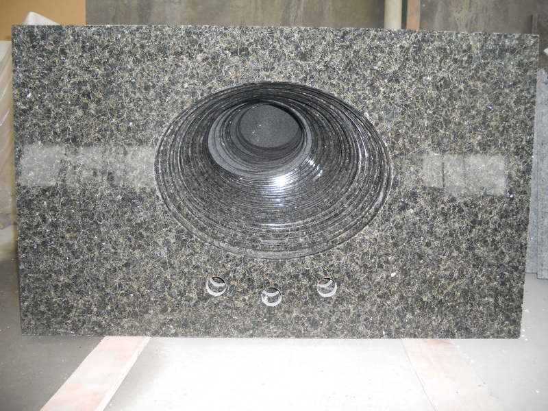 Verde Ubatuba Green Granite Vanity Tops