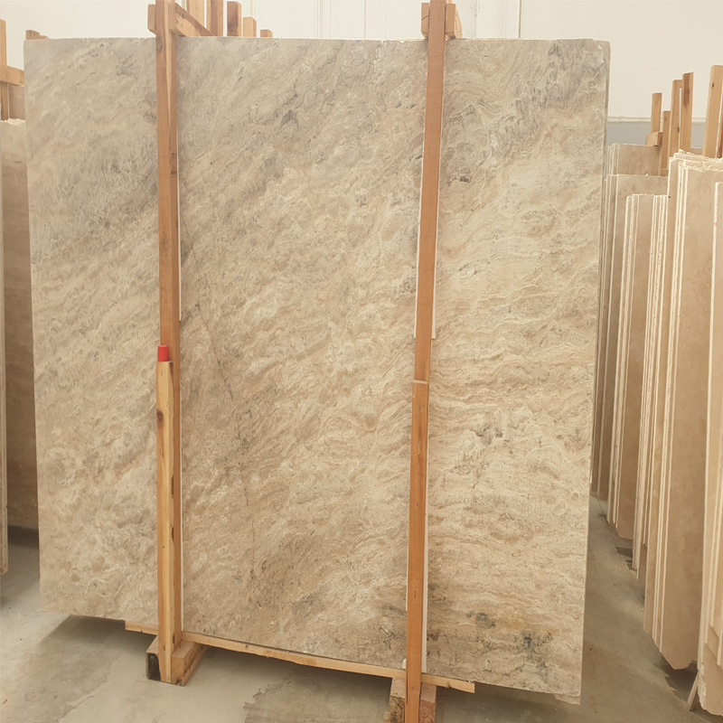 Premium Quality Turkish Cashmere Silver Travertine