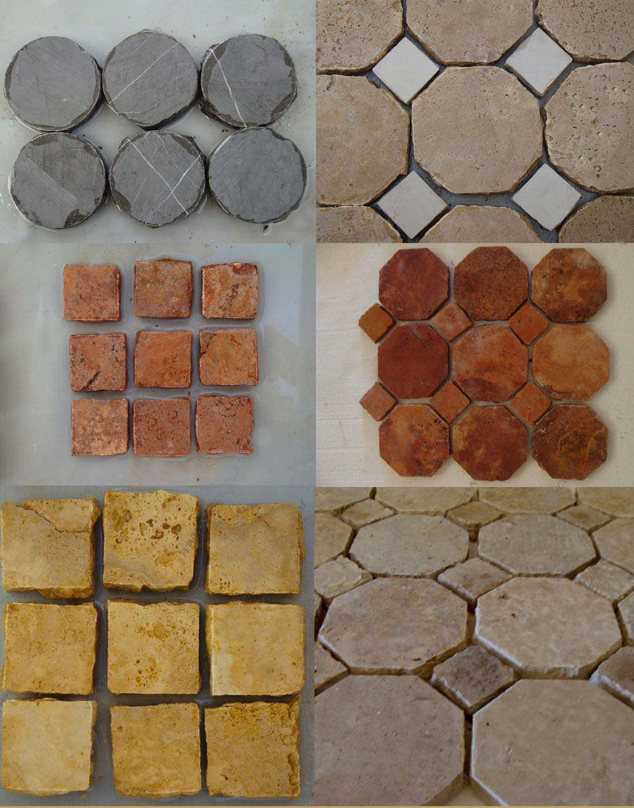 Natural Stone Antique Mosaic Tile