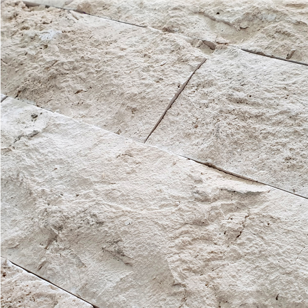 Turkish Light Travertine Split Face