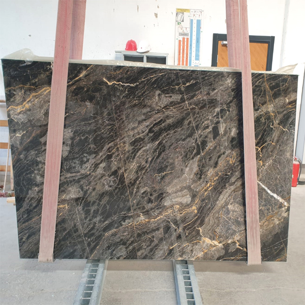Nero Picasso Marble Slabs