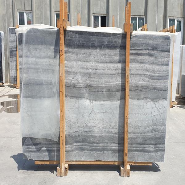 Grey Marble Vein Cut Slab