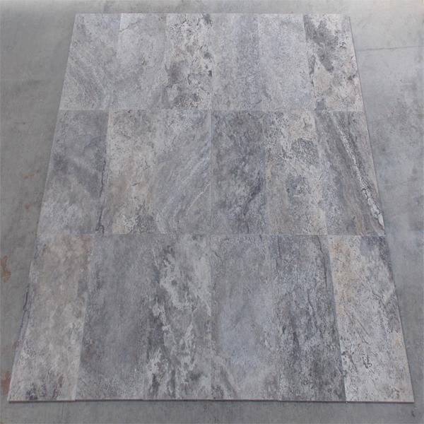 Silver Travertine Cross Cut Tiles