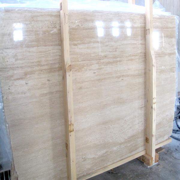 Transparent Resin Fillled Vein Cut Slabs