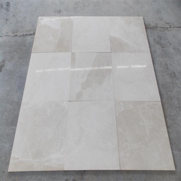 White Beige Marble Tile