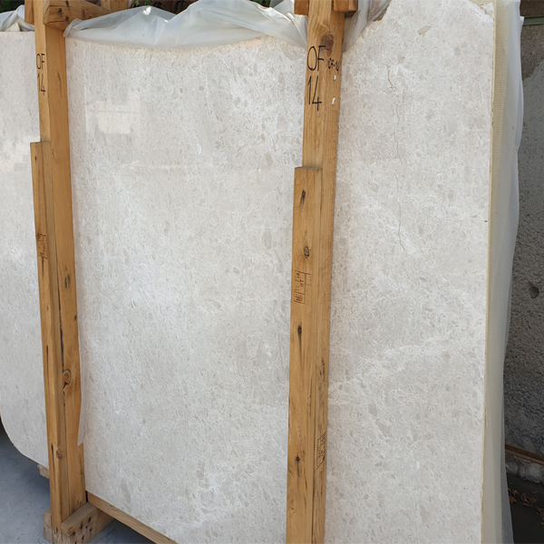 Turkish Ottoman Beige Marble Slabs for Projects