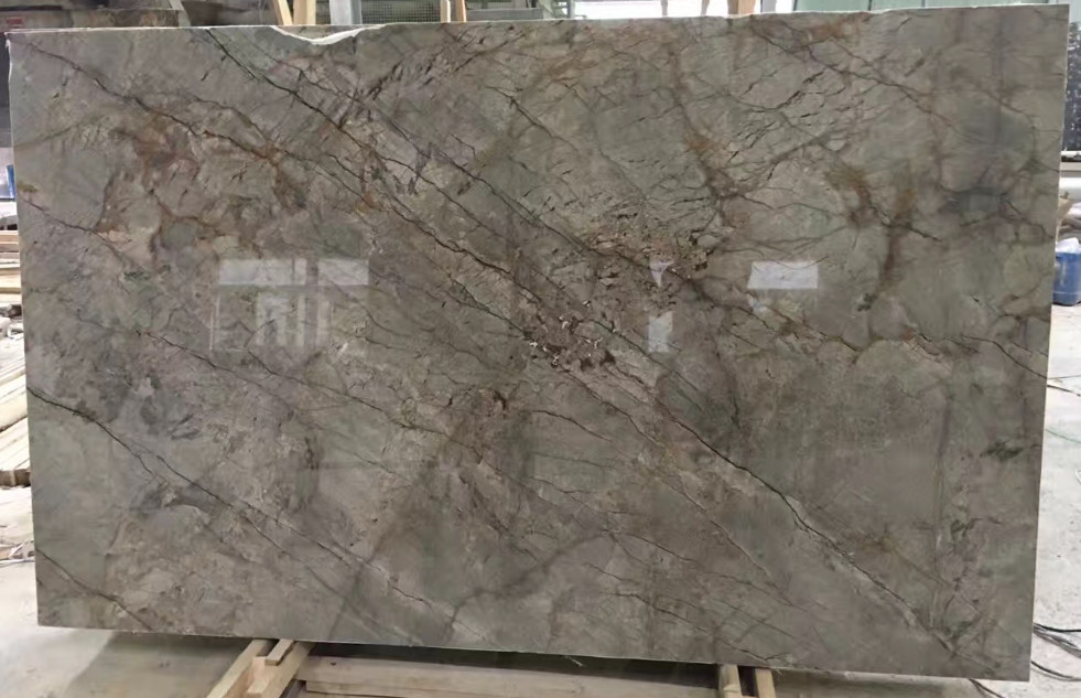 Grigio Uranus Grey Polished Marble Slabs