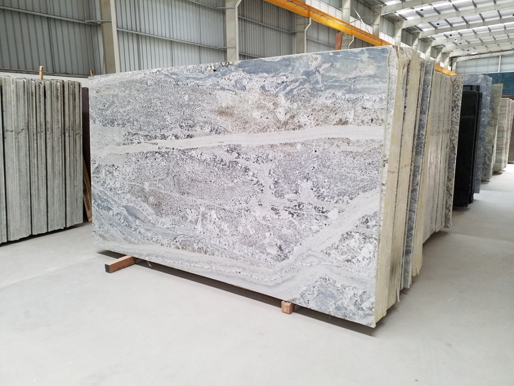 Natural Stone Slabs White Granite Polished Slabs