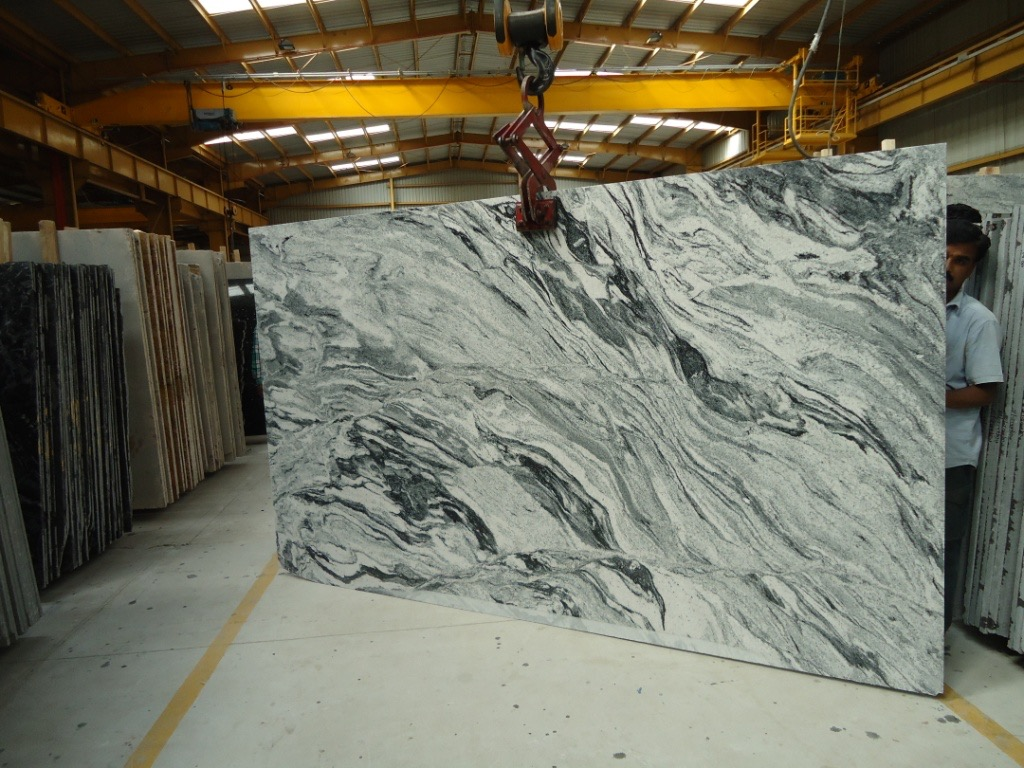 Viscon White Granite Polished Slabs