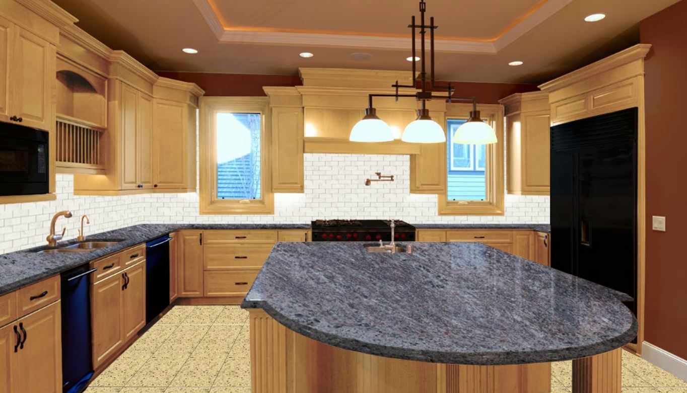 VIZAQ BLUE GRANITE PREFAB