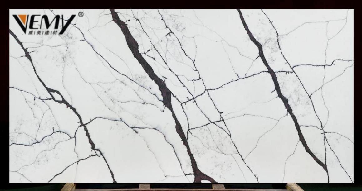 Vemy Calacatta Quartz Stone Slab