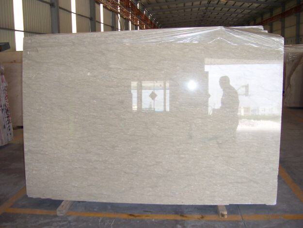 Vanilla Beige Marble Slab For Interior Decoration