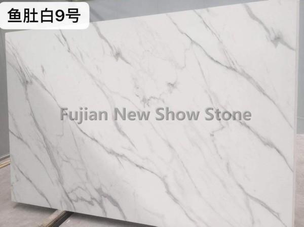 No.9 calacatta white artificial marble