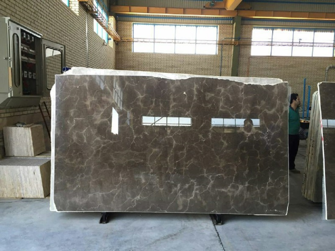 Iran Brown Marble Slabs