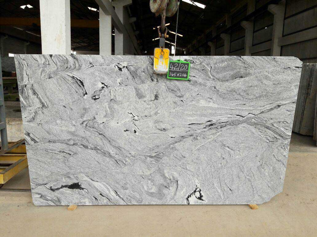 Vicont White Granite slab