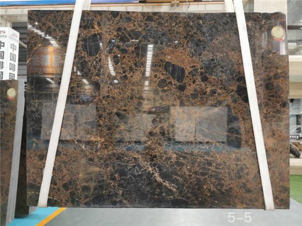 Vienna Golden Marble Slab For Interior Decoration