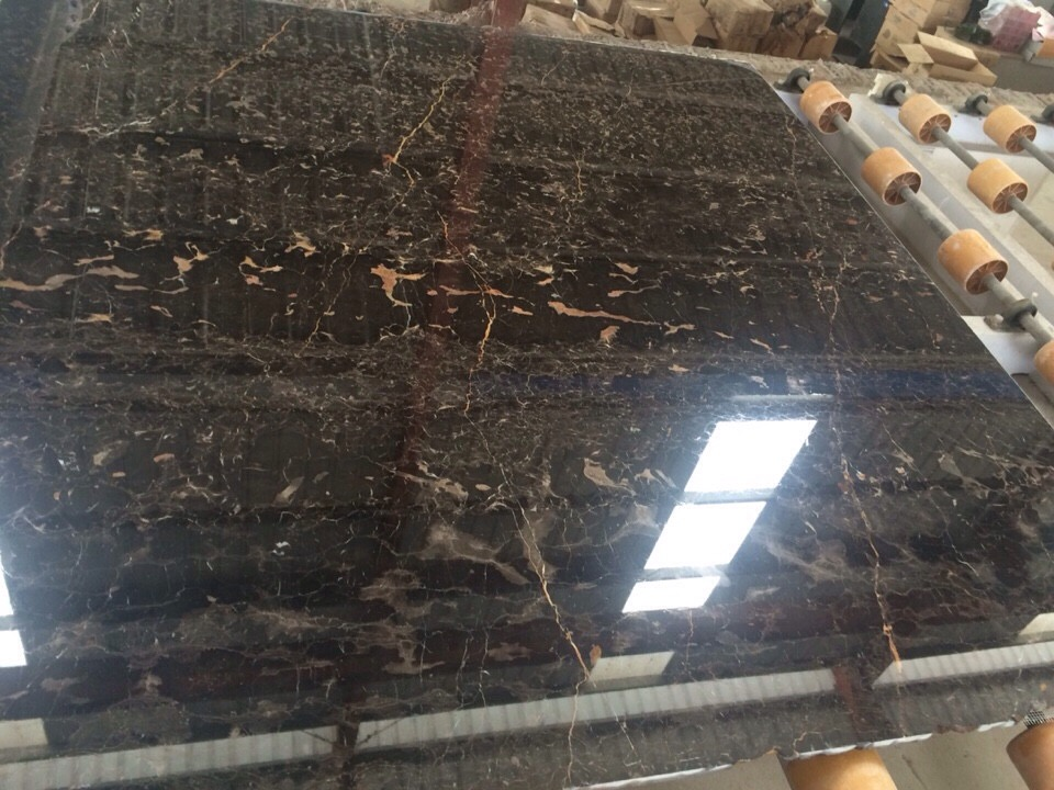 Vietnam Brown Marble Slab