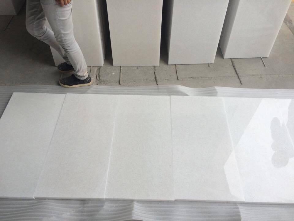 Viet Nam Pure white marble 40x80x3cm