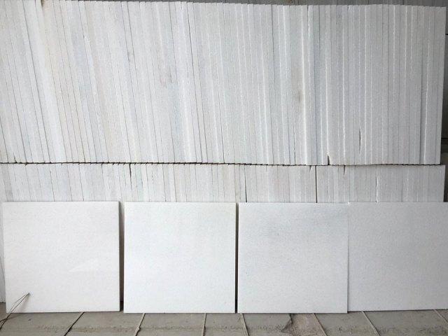 White Marble  30x30x1 cm
