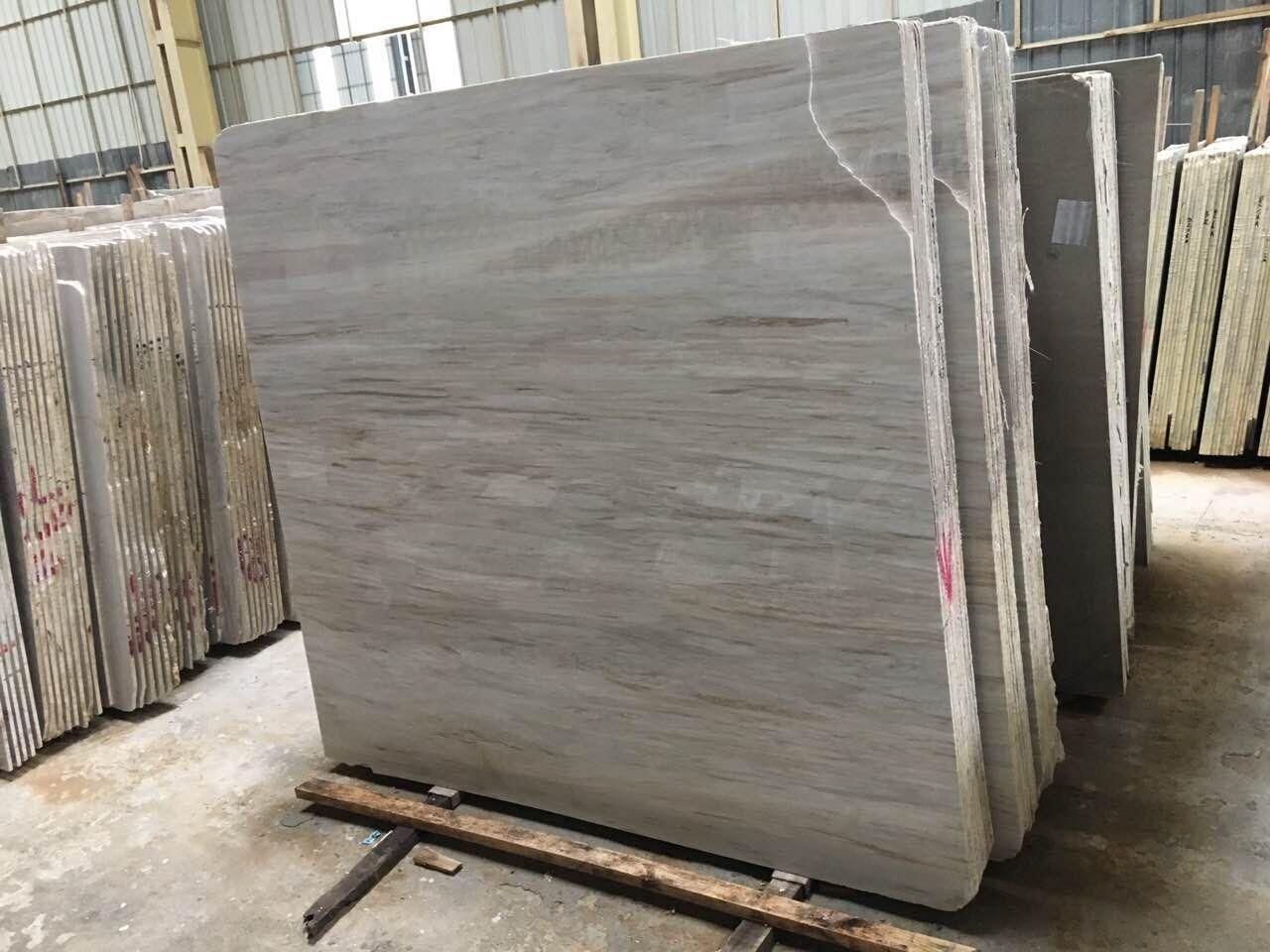 Vietnam Wooden Vein Marble Slabs & Tiles  Polished Marble Slab FloorWall Covering
