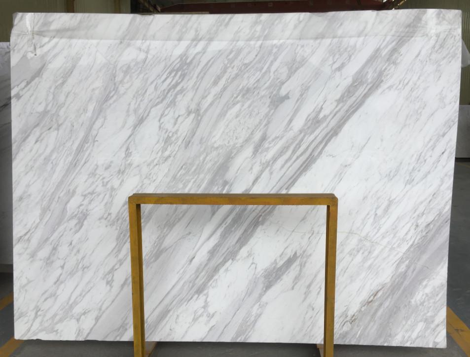 Volakas White Slabs Polished Marble Slabs