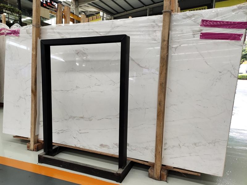 Greece Volakas White Marble Slabs Volakas Marble Tiles