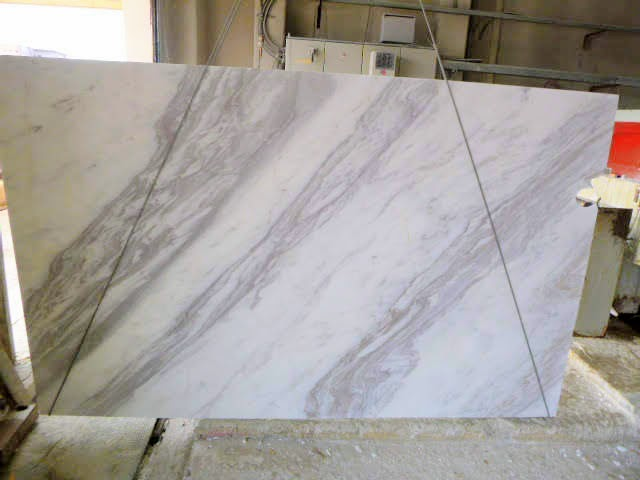 Volakas White Marble Polished Slabs Tiles