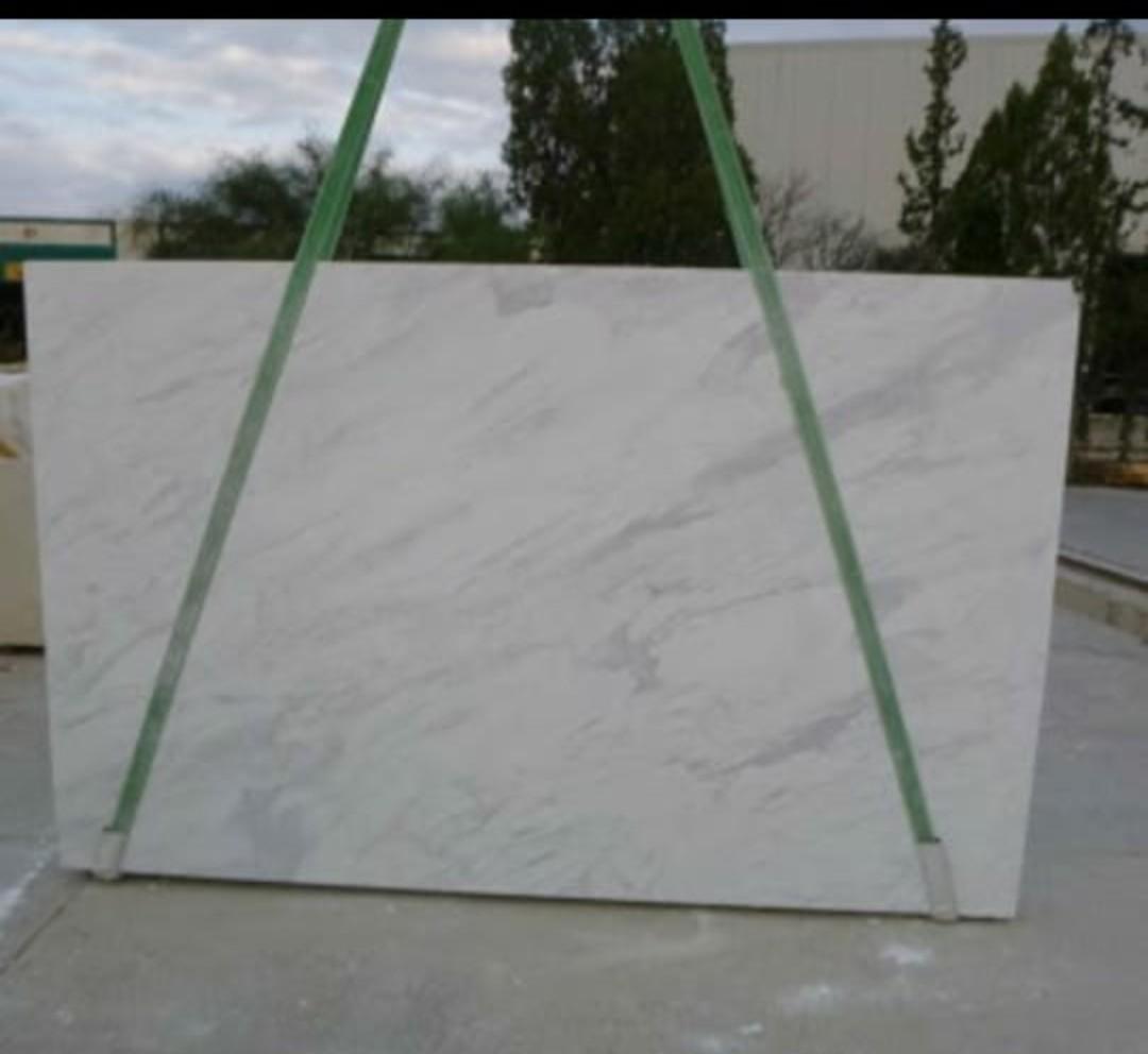 Volakas White Marble Polished Slabs Tiles Type 2