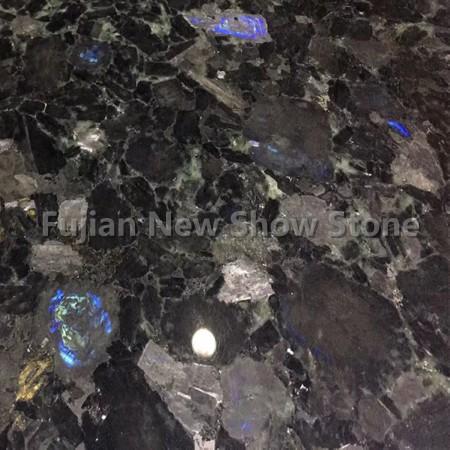 Volga blue granite color