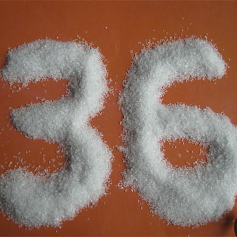 36white fused alumina36mesh white aluminum oxide