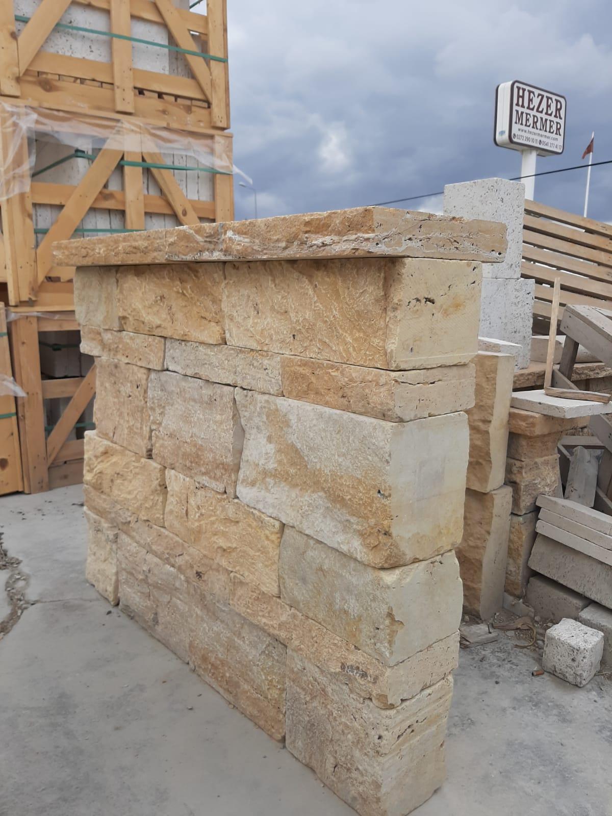 Travertine Wall Stone