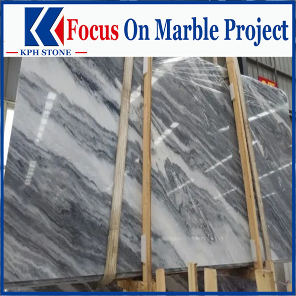 Wave grey marble