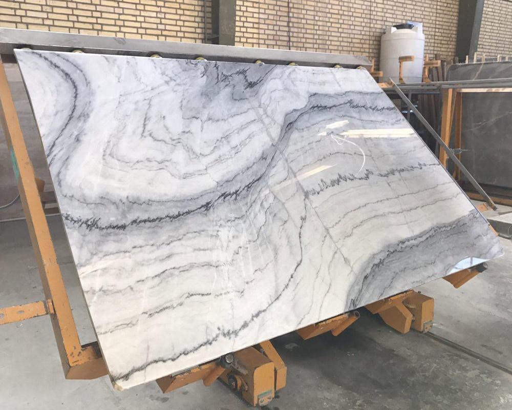 Simon Marble White Polished Marble Slabs