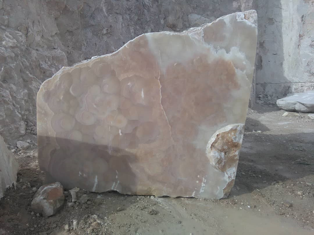 Ruzban Brown Natural Onyx Blocks