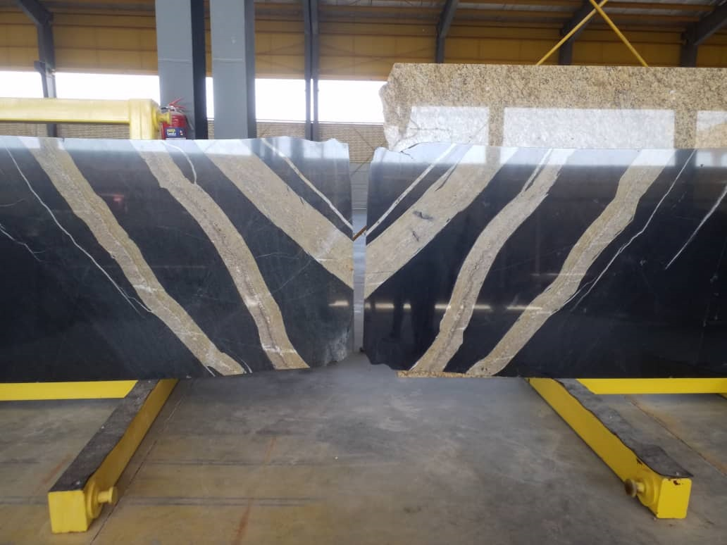 Black Zebra Granite