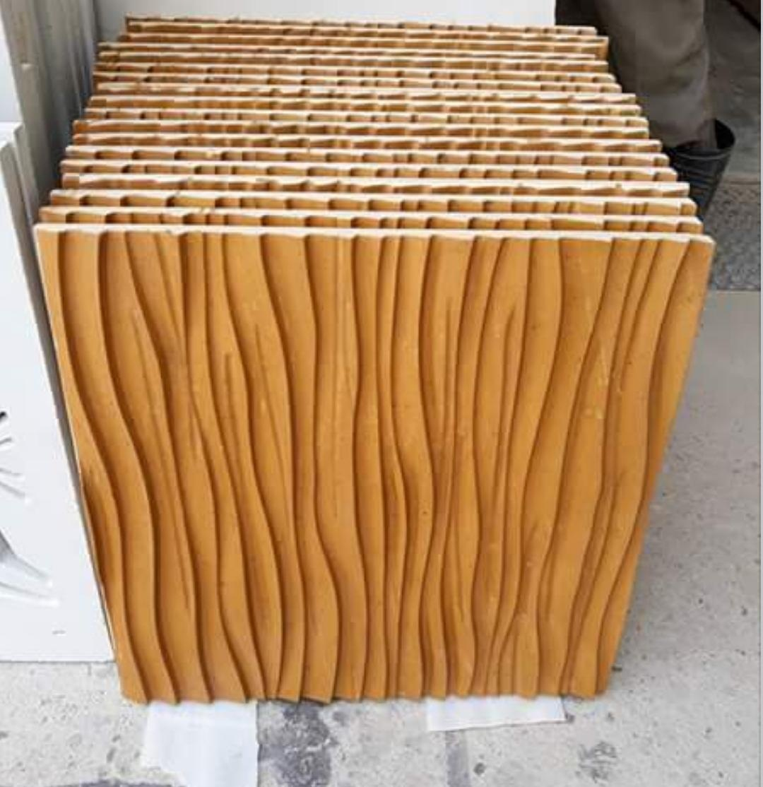 Sandstone Cnc Wall Panels