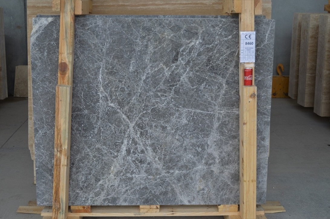 Silver Shadow Marble Slabs