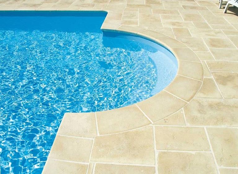 Limestone Pool Copings