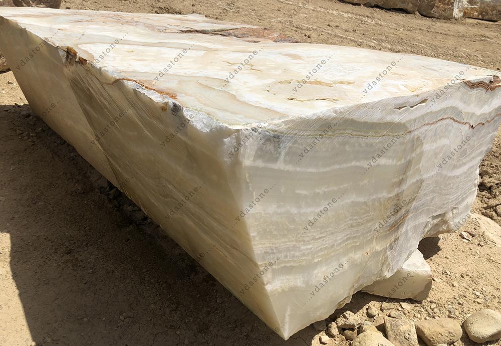 White Onyx Block