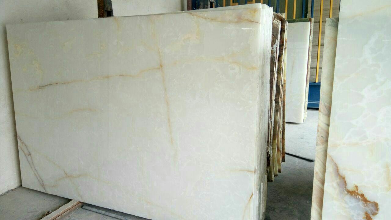 Iran White Onyx Slab