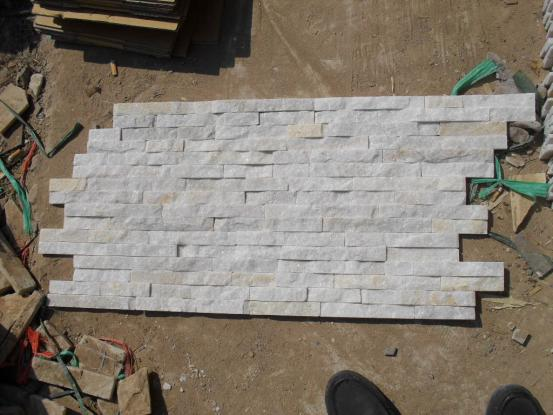 White Quartzite Thin Culture Stone