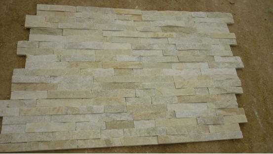 White Quartzite Wall Panel