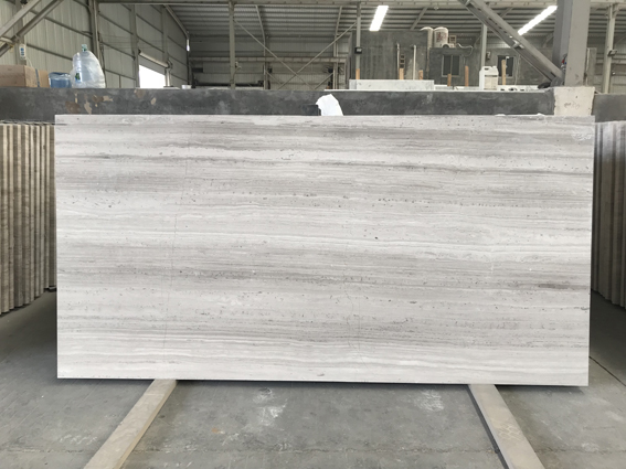 White WoodHaisa Light Chinese Serpeggiante Marble