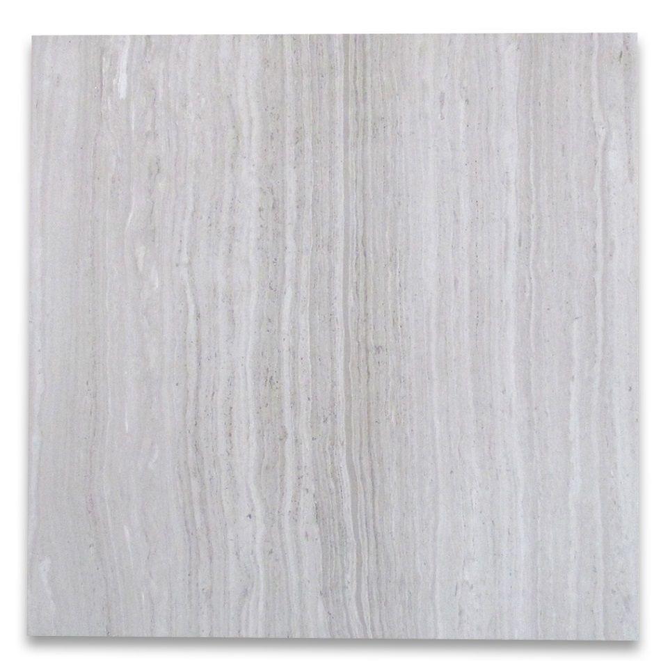 White Wood Grain Haisa Light Marble