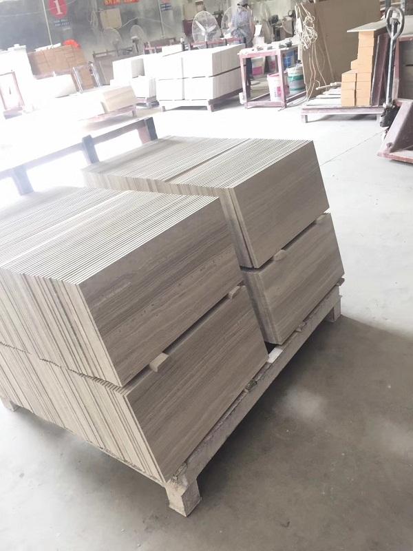 Grey Wood Grain Marble Tiles