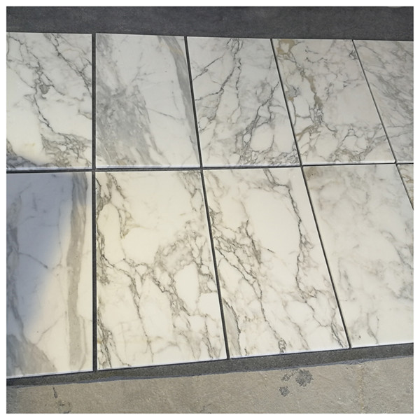 White Calacatta Gold Marble Tile