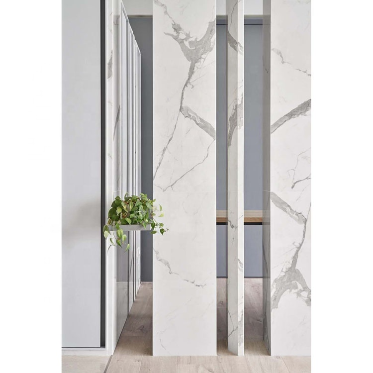 Polished Boutique Calacatta White Marble