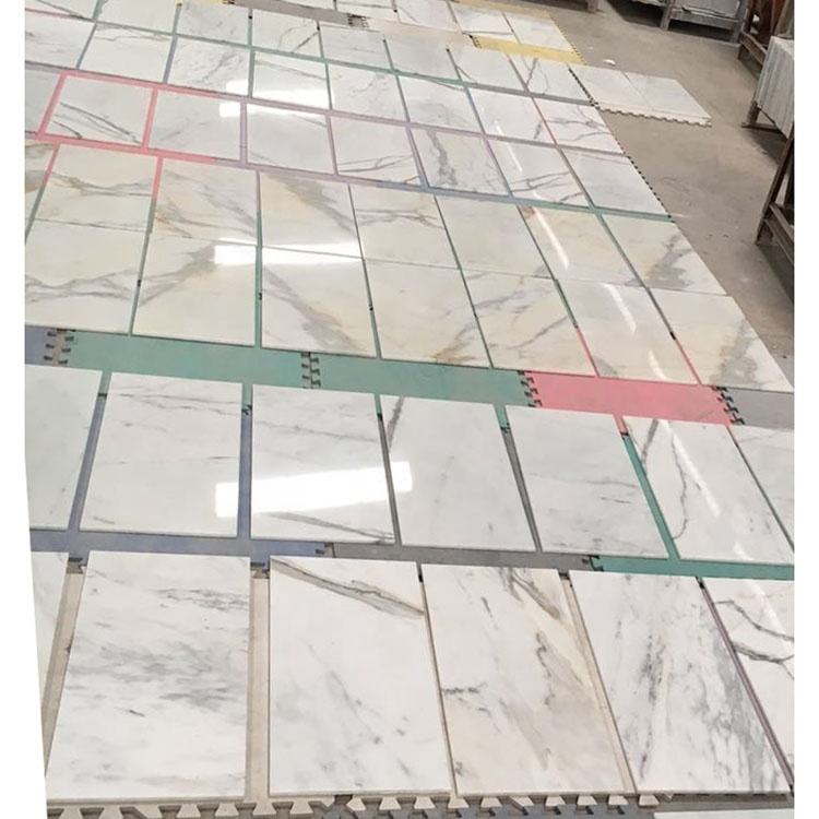 White Calacatta Marble Tiles For Indoor Wall Decorations
